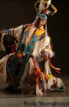 Rudy Youngblood beautiful costume