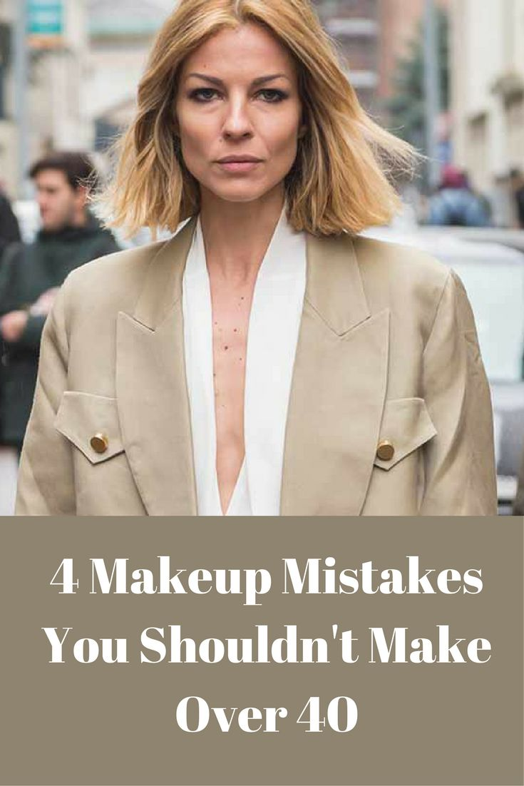 When you're 40, you've reached the optimal maturity level everyone else wishes they had. So, your makeup look should be as posh and put together as you are! Make sure you avoid these makeup mistakes to achieve an amazing look without overdoing it! [Photos: Shutterstock]