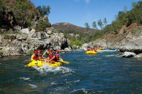 American River Rafting; South Fork American; Sacramento, California Rafting 1 day trips available