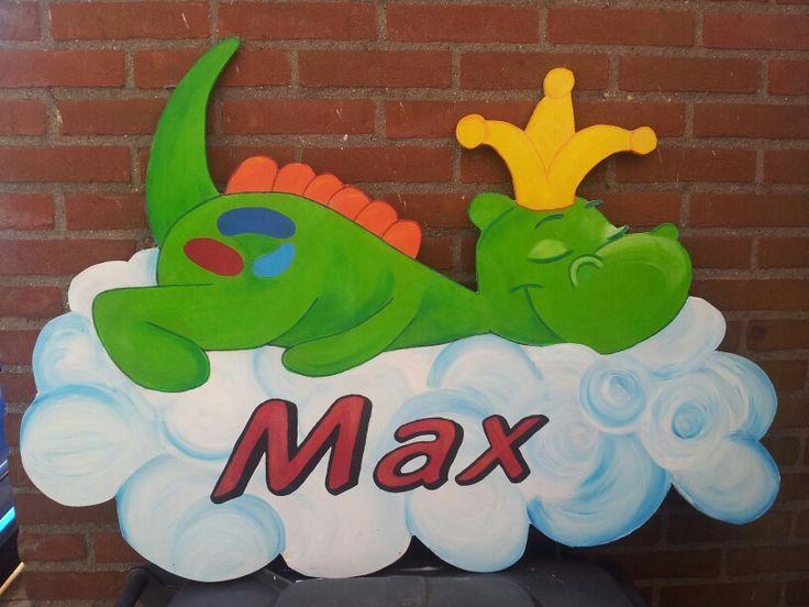 Een geboortebord voor Max!!