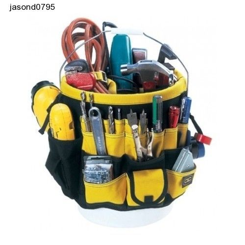 Tool kit handy jobs Custom LeatherCraft 48 Pocket-In & Out Bucket Pockets - #CustomLeathercraft