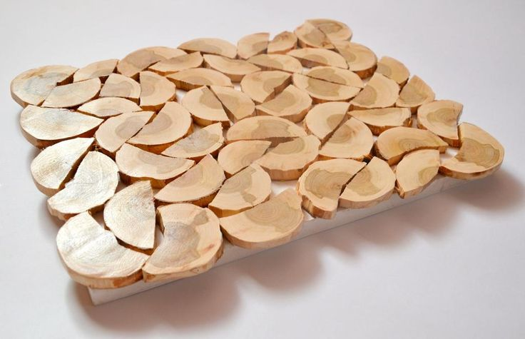 drewniana podkładka pod gorące oryginalna taca