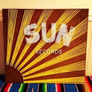Sun Records String Art by DisorderAndDisarray on Etsy, $80.00