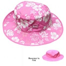 Pink/White Reversible sunhat, $29.99 - two sunhats in one! This colour available only in Baby size for 0-2 years.