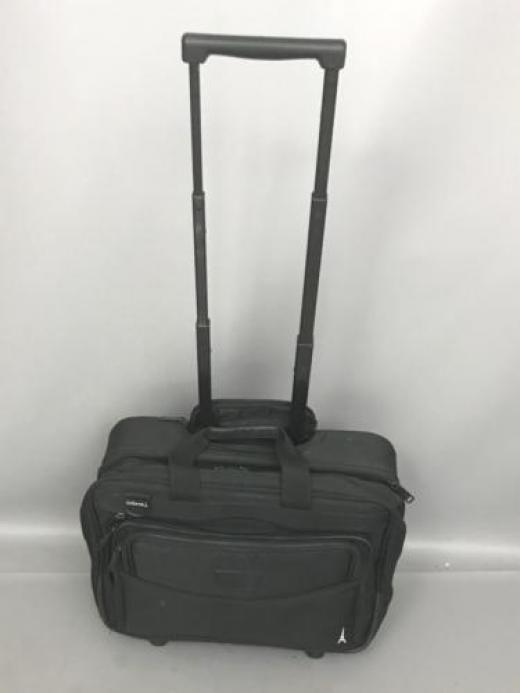 "Travelpro Computer Laptop Bag Business Rolling Briefcase 16"" Black Unisex Adult Nylon"