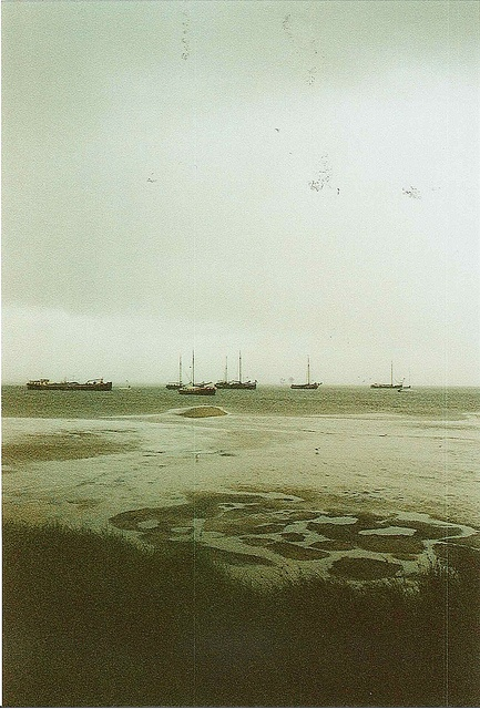 The island of Terschelling in The Netherlands