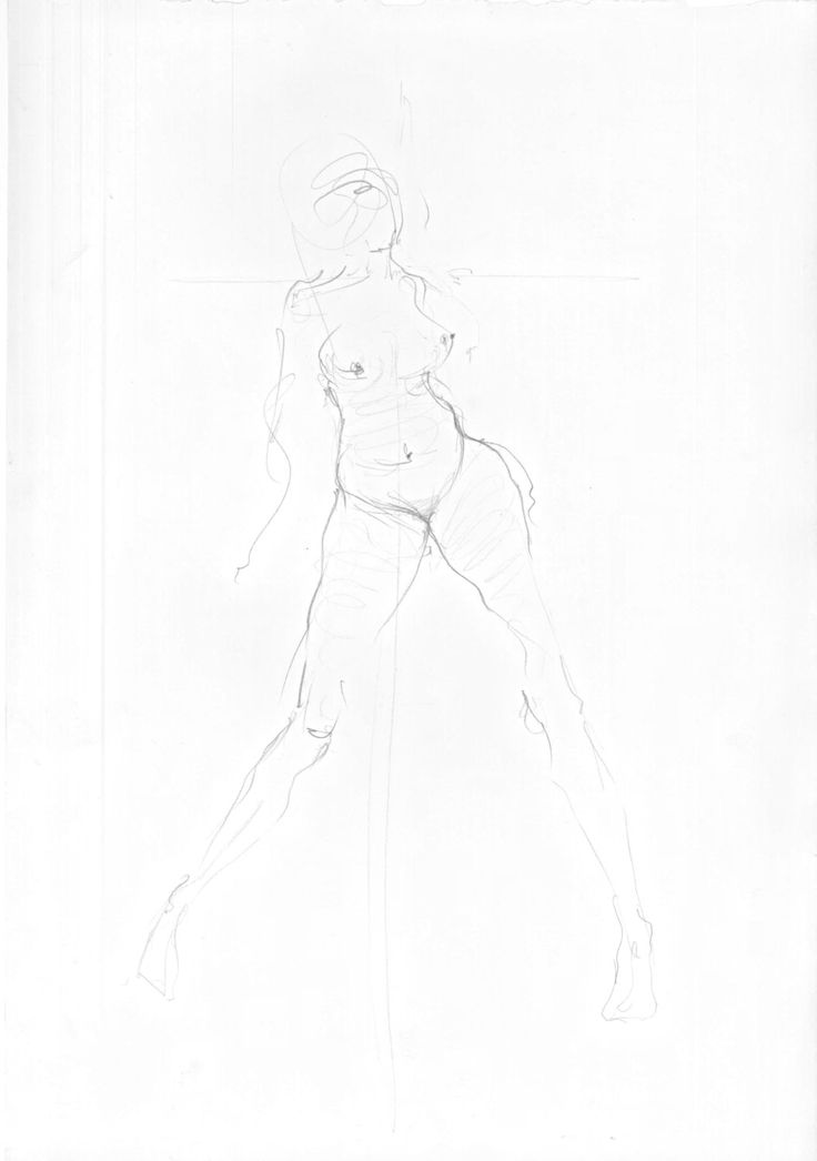 Figure sketch 1 by philippahadleycoates on Etsy