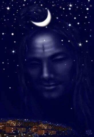 Om namha shivaya ...hes always watching us 》¥`¥¤£♥