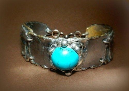 http://megasilver.pl/Bransoleta-p362 #Bracelet #metalwork #handmade #blue #turquoise #stone #jewelry #jewellery