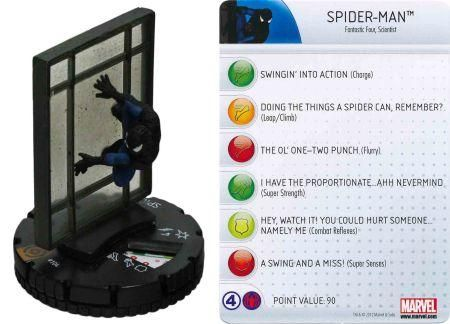 Spider Man #104 Galactic Guardians Marvel Heroclix Single