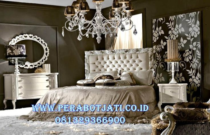 Jual Set Kamar Minimalis Ukir Klasik Mecca | Desain Kamar Tidur Minimalis Klasik