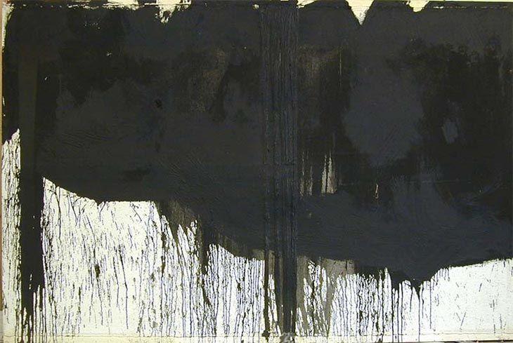 hermann nitsch, splatter painting, 1990!