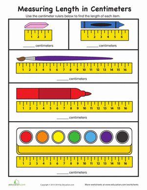 measure in centimeters matematik 1 3 first grade math worksheets measurement worksheets och. Black Bedroom Furniture Sets. Home Design Ideas