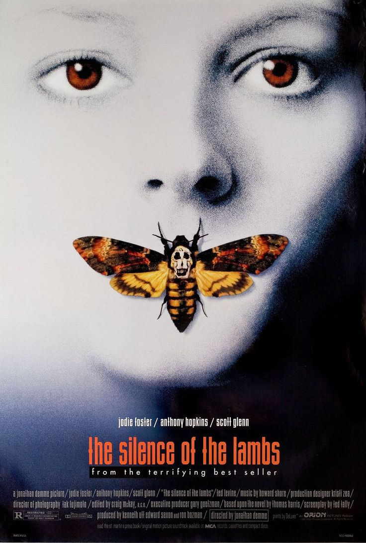 The Silence of the Lambs 1990 U.S. One Sheet Poster