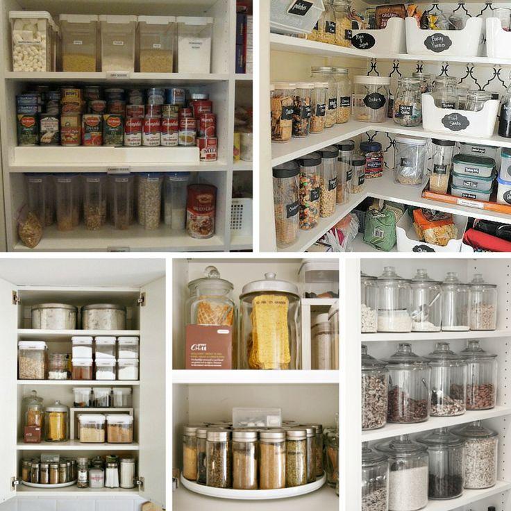 17 melhores imagens sobre organização da despensa no pinterest ...