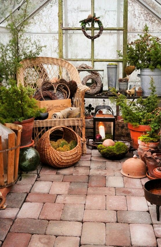 ♥ in the greenhouse