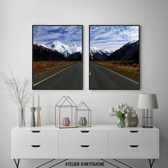 Symmetry Photography Mountain Nature Print Scenery Landscape