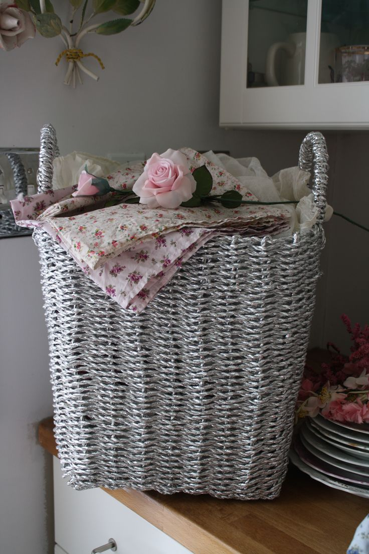 503 best Baskets images on Pinterest   Wicker, Layette and Baskets