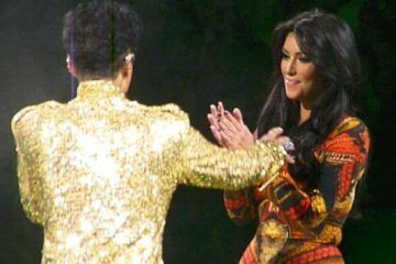 "That Time Prince Told Kim Kardashian ""Get Off The Stage!!"" Hilarious!!!"