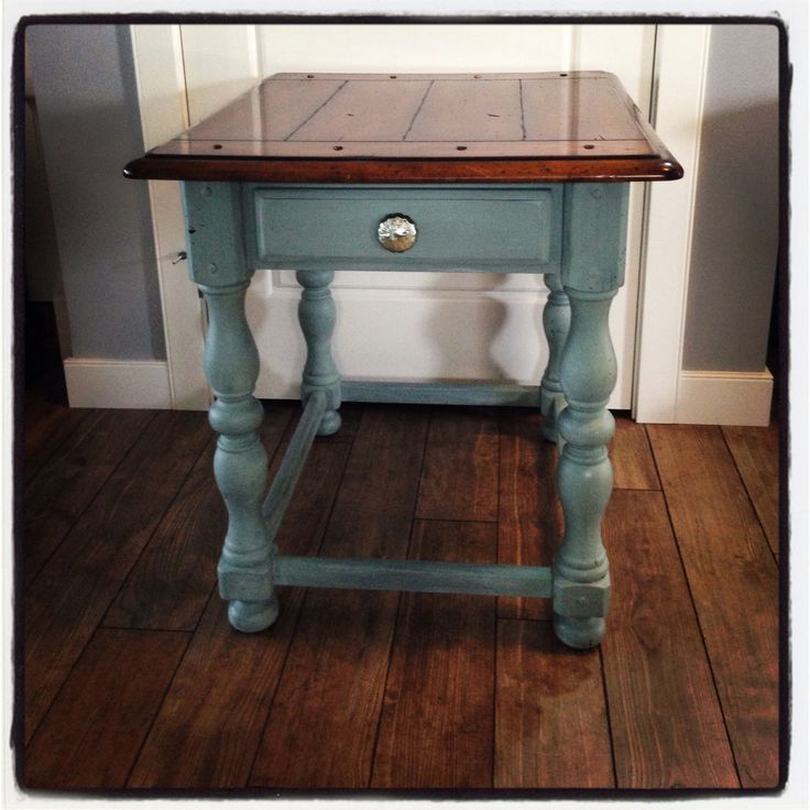 Best Rustic End Table Van Gogh Patina By Airdrie Furniture 400 x 300