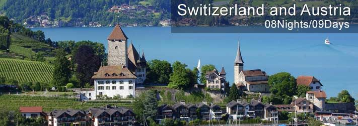 Switzerland Austria Holiday Packages - Europe Group Tours best Tour organizer have a customized Plan For holidays, vacation Packages for  Austria and Switzerland 2014 within your budget and lots of entertainment.