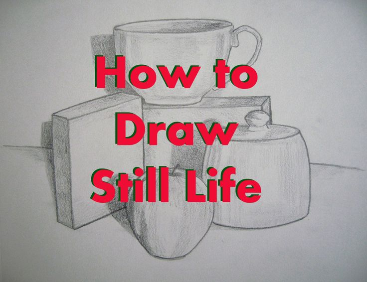 How to Draw Still Life Tutorial