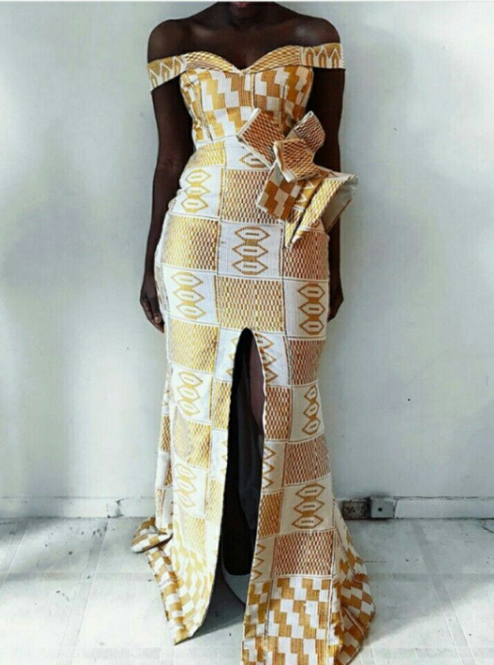 Kente Style For Engagement Kente Styles Short Dress Styles African Fashion