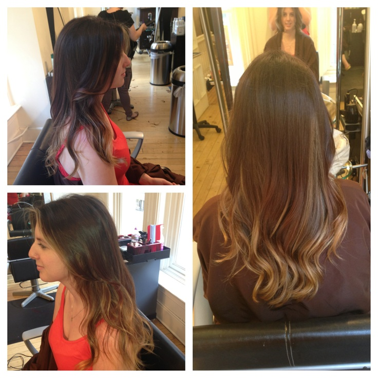 Hi lites with hair painting hair by tara manthey at for A p beauty salon vancouver wa
