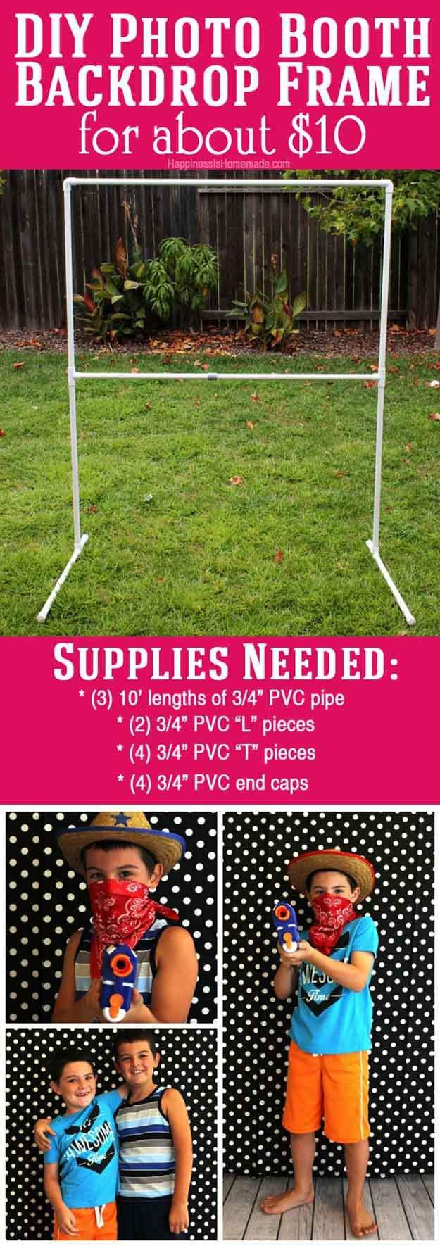Best 25 diy photo booth ideas on pinterest diy wedding photo 25 diy photo booth ideas for your next shindig solutioingenieria Images