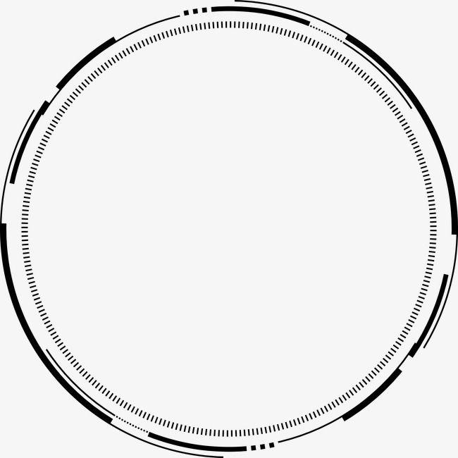 Ps Ink Ink Bamboo Technological Sense Geometric Circle Png And Clipart Geometric Circle Urban Design Graphics Overlays Picsart