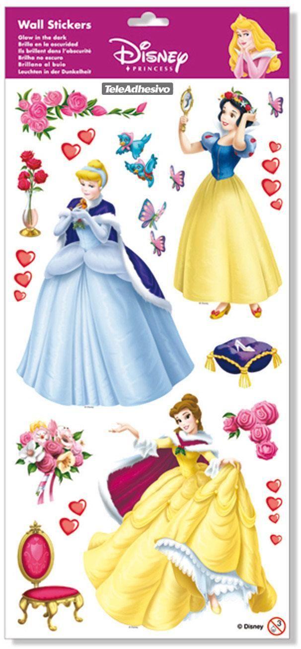 Adesivi per bambini: vinile Kit adesivi principesse. Adesivi murali bambini a kit. #adesivimurali #decorazione #modelli #mosaico #disney #principesse #StickersMurali