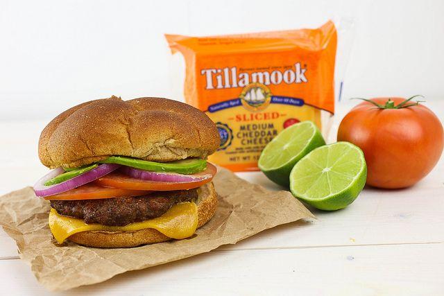 Southwestern Avocado Burger with Tillamook Cheese