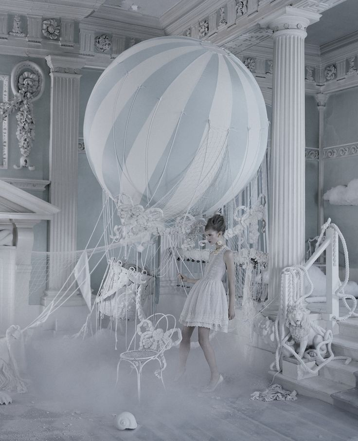 Stina Rapp Wastenson photographed by Tim Walker for the Red Valentino Spring/Summer 2013 Campaign