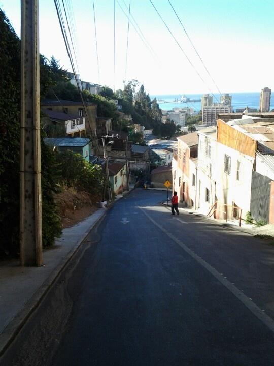 Vista desde cerro Monjas #valpo