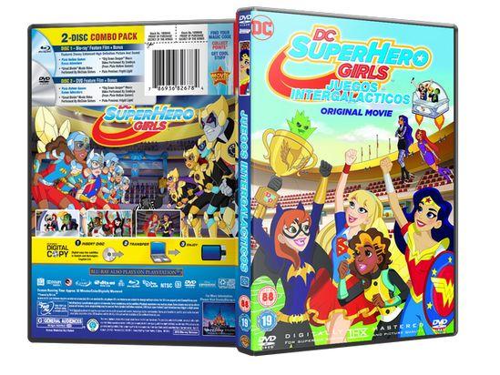 Dc Superhero Girls Intergalactic Game