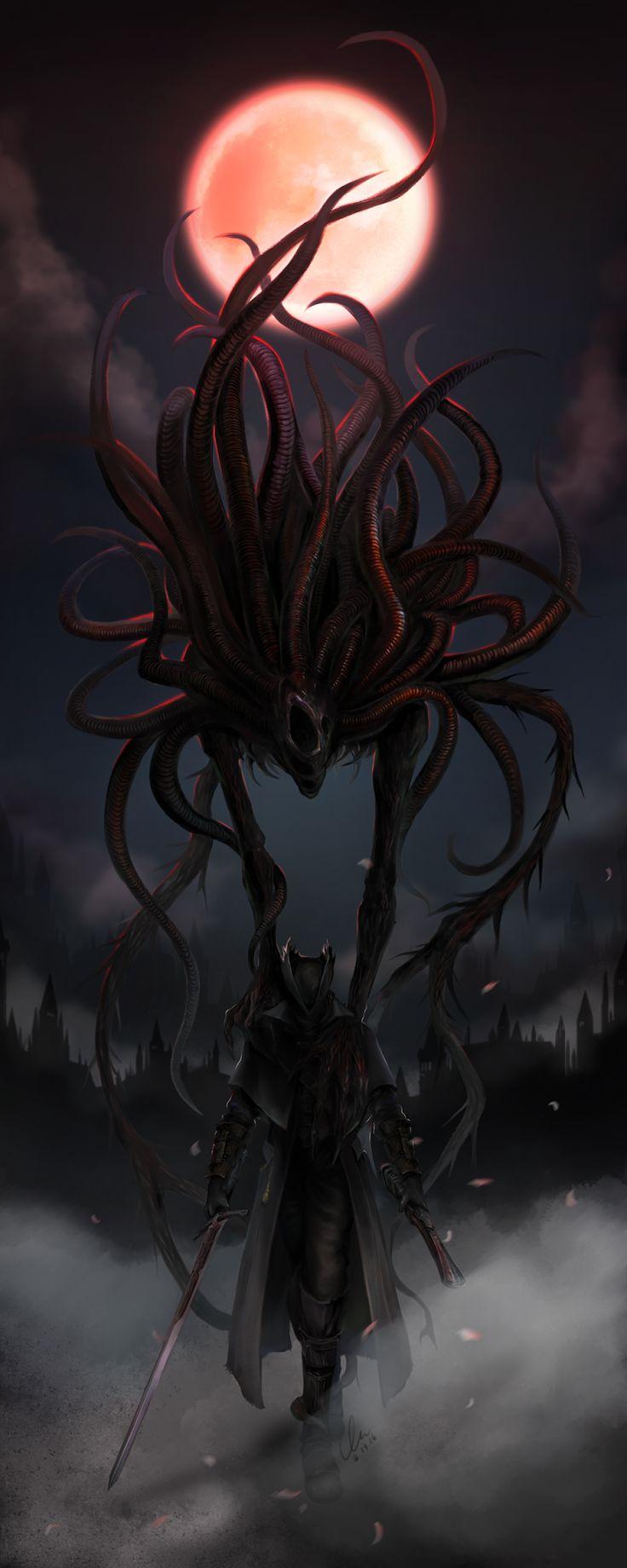 Nooruk's Lair | Bloodborne & Soul series collaboration. I'd...