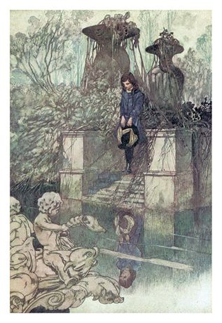 The Secret Garden. The illustrations inside by Charles Robinson are so lovely
