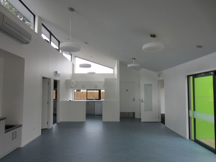 The interior of the Hearing House's new preschool! It's looking pretty slick.