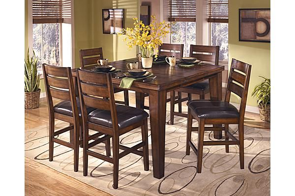 The Porter Counter Height Extension Dining Table From Ashley Furniture HomeStore AFHS