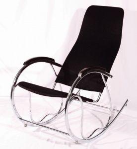 Кресло качалка ARIVA AR-K2BL черного цвета недорого купить в интернет-магазине мебели