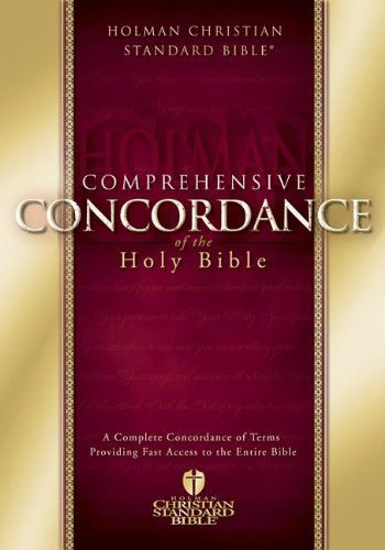 HCSB Comprehensive Concordance (Holman Christian Standard Bible)