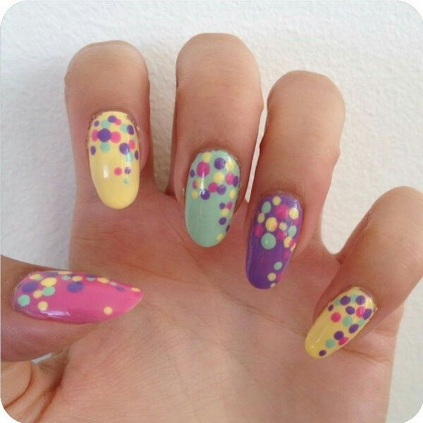 29 best polka dots nails images on pinterest nail designs if you are looking for the stylish polka nail designs then here you are prinsesfo Image collections