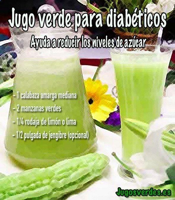 Jugo Verde Para Bajar Los Niveles De Azúcar En Sangre Jugo Azúcar Diabetes Grüner Saft Gesundheit Und Wellness Diabetes