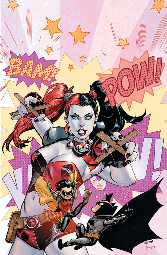 Haven't looked at all of them yet, but so far I like this one best. Harley Quinn Month   DC Comics