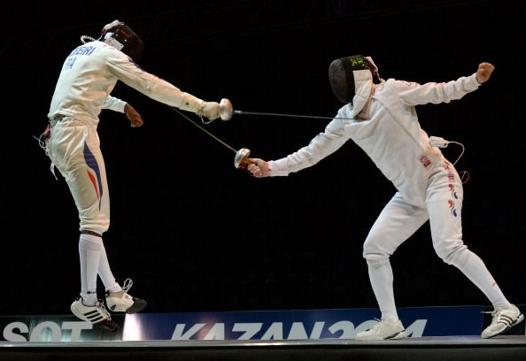 Gold for Olympic champion Robeiri at World Fencing Championships