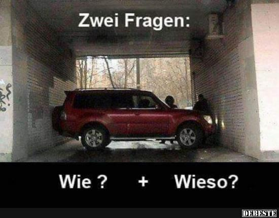 Zwei Fragen..