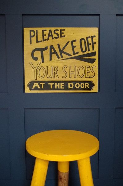Please Take Off Your Shoes Sign                                                                                                                                                                                 More