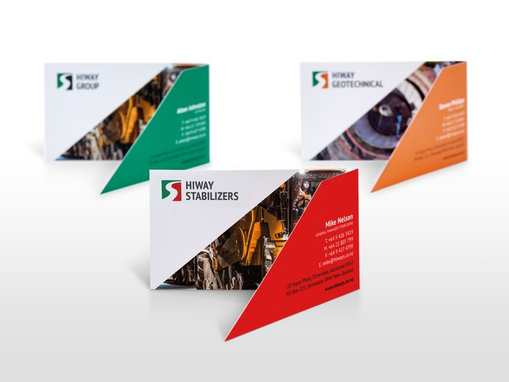 Hiway Group business cards