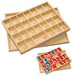 box for uppercase letters
