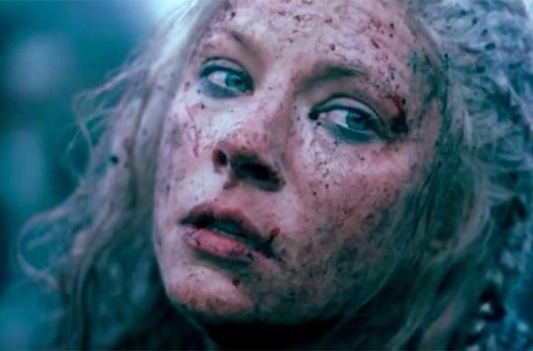 First glimpse of #Lagertha in season 6.. ⚔️#Vikings